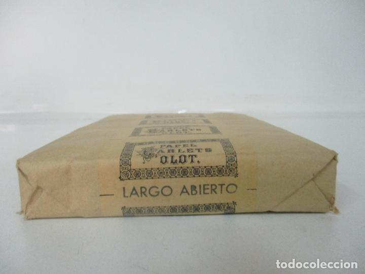 Papel de fumar: Caja Completa de 100 Carteras de Papel de Fumar +1- Papel Carlets, Olot - Original -Nuevo a Estrenar - Foto 2 - 172299363