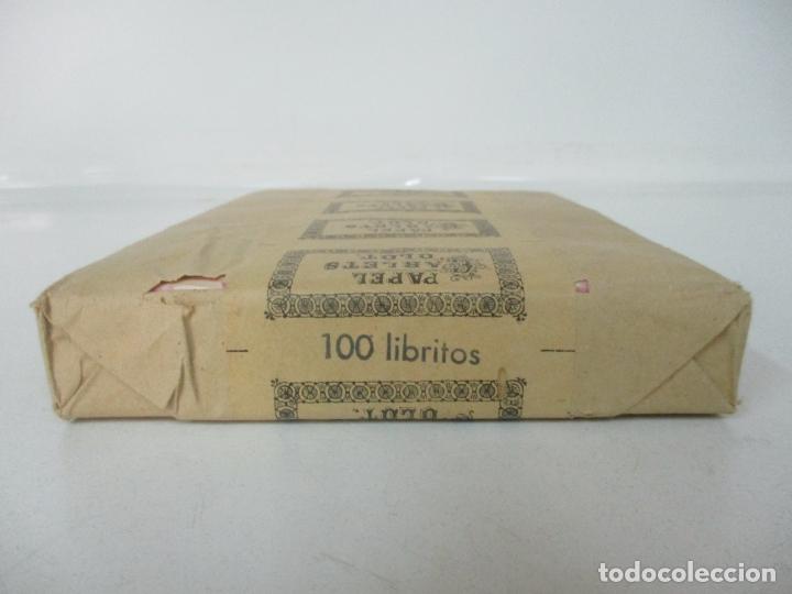 Papel de fumar: Caja Completa de 100 Carteras de Papel de Fumar +1- Papel Carlets, Olot - Original -Nuevo a Estrenar - Foto 4 - 172299363