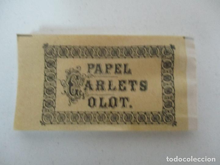 Papel de fumar: Caja Completa de 100 Carteras de Papel de Fumar +1- Papel Carlets, Olot - Original -Nuevo a Estrenar - Foto 6 - 172299363