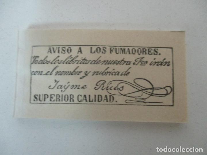 Papel de fumar: Caja Completa de 100 Carteras de Papel de Fumar +1- Papel Carlets, Olot - Original -Nuevo a Estrenar - Foto 7 - 172299363