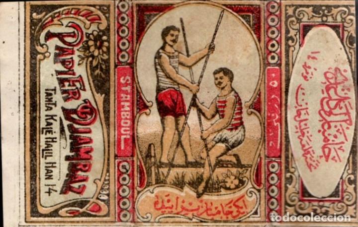 PAPEL DE FUMAR - PAPIER DJAMBAZ, OLD, FULL PACKET (Coleccionismo - Objetos para Fumar - Papel de fumar )