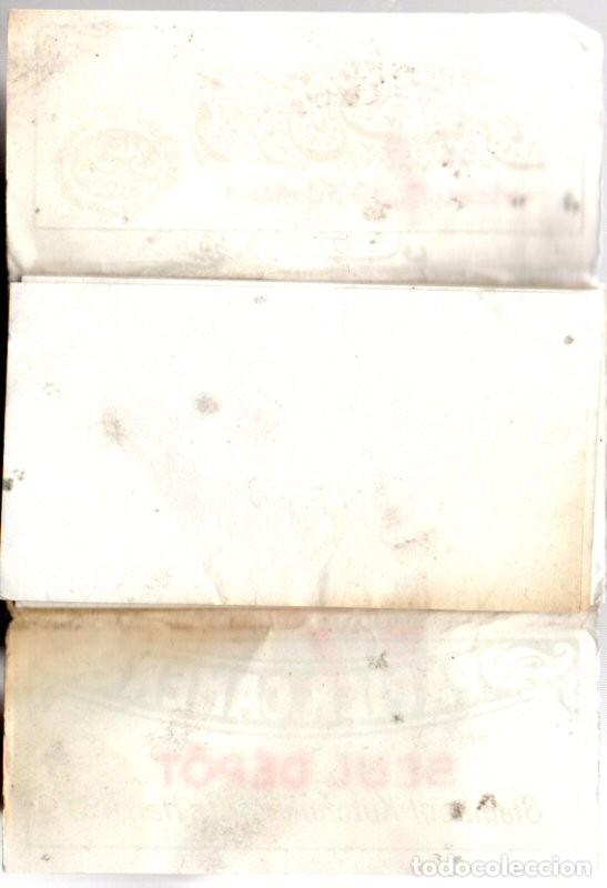Papel de fumar: Papel de Fumar, Papier Camer. Old, Full Packet. - Foto 2 - 172884539