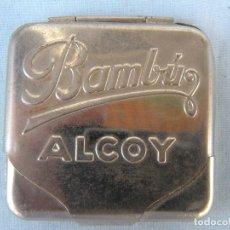 Papel de fumar: FUNDA PAPEL DE FUMAR BAMBÚ ALCOY. Lote 173444547