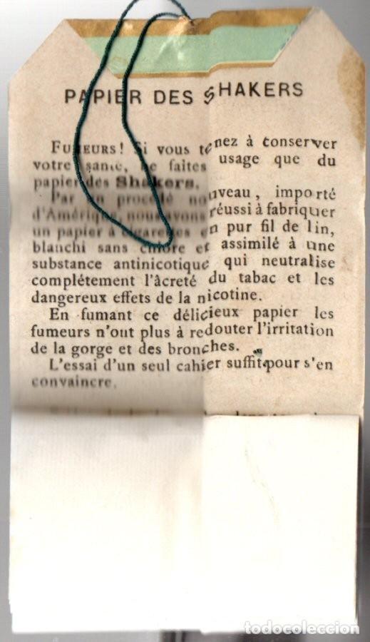 Papel de fumar: Papel de Fumar Papier des Shakers No 5, Old, Full Packet - Foto 2 - 173916695