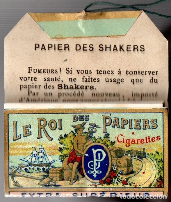 Papel de fumar: Papel de Fumar Papier des Shakers No 5, Old, Full Packet - Foto 3 - 173916695