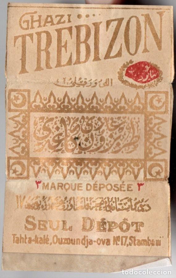 PAPEL DE FUMAR. TREBIZON, OLD CIGARETTE PAPER COVER, COVER ONLY, NO PAPERS (Coleccionismo - Objetos para Fumar - Papel de fumar )