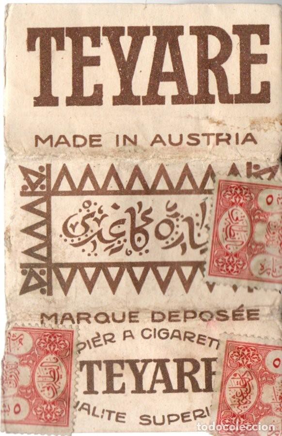 PAPEL DE FUMAR. TEYARE, OLD CIGARETTE PAPER COVER, COVER ONLY, NO PAPERS (Coleccionismo - Objetos para Fumar - Papel de fumar )