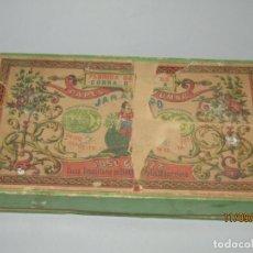 Papel de fumar: ANTIGUA CAJA VACIA DEL PAPEL DE FUMAR JARAMAGO DE CONRADO VALADÍA - AÑO 1920S.. Lote 176282475