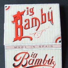 Papel de fumar: PAPEL DE FUMAR BIG BAMBU ALCOY. Lote 176532513