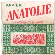 Papel de fumar: PAPEL DE FUMAR, SMOKING PAPER; PAPIER ANATOLIE OLD, COVER ONLY . Lote 178096349