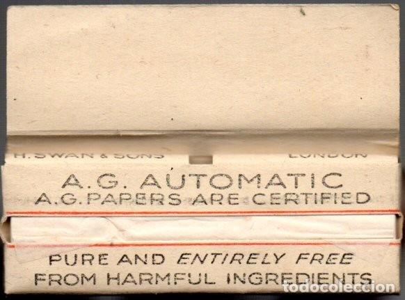 Papel de fumar: Papel de Fumar, Smoking paper Papier A. G. Full Packet - Foto 2 - 178238573