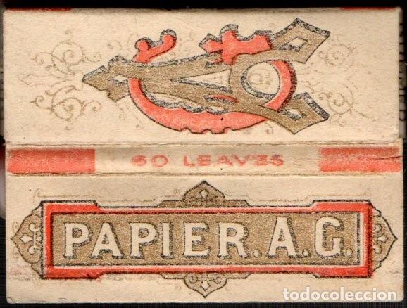 PAPEL DE FUMAR, SMOKING PAPER PAPIER A. G. FULL PACKET (Coleccionismo - Objetos para Fumar - Papel de fumar )