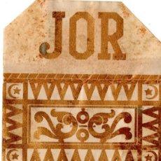 Papel de fumar: PAPEL DE FUMAR, CIGARETTE PAPER; JOR, COVER ONLY.. Lote 178280681