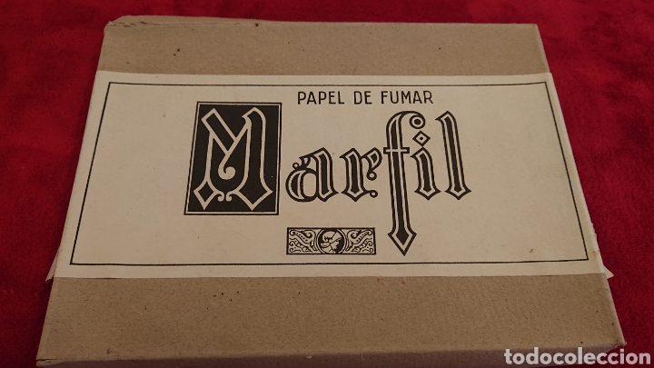 CAJA DE PAPEL DE FUMAR MARFIL (Coleccionismo - Objetos para Fumar - Papel de fumar )