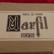 Papel de fumar: CAJA DE PAPEL DE FUMAR MARFIL. Lote 178403176