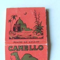 Papel de fumar: PAPEL DE FUMAR CAMELLO CUADRADO MODELO 2 MADE IN SPAIN. Lote 178446510