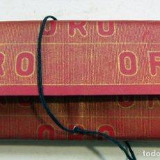 Papel de fumar: PAPEL DE FUMAR - PAPEL ORO - HIJOS DE C. GISBERT TEROL - ALCOY. Lote 178872655