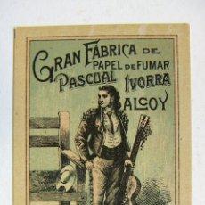 Papel de fumar: ENVOLTORIO PAPEL DE FUMAR - FIGARO - PASCUAL IVORRA - ALCOY PERFECTO SIN DOBLAR. Lote 178917448
