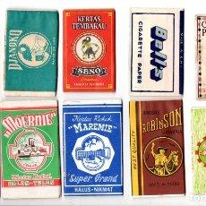 Papel de fumar: PAPEL DE FUMAR; - 10 FULL PACKETS CIGARETTE PAPER; OLDER INDONESIAN . Lote 178984792