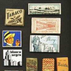 Papel de fumar: LOTE DE 18 LIBRITOS DE PAPEL DE FUMAR DIFERENTES (VER FOTO ADICIONAL). Lote 179218025