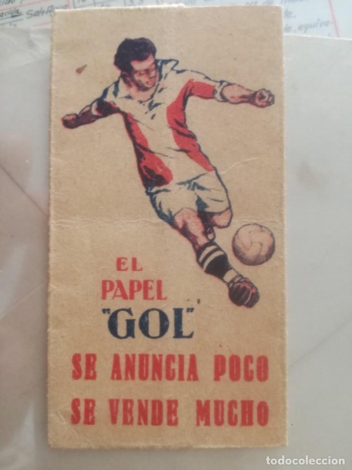 PAPEL GOL. (Coleccionismo - Objetos para Fumar - Papel de fumar )