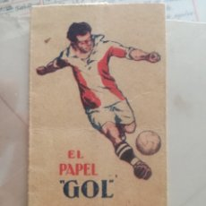 Papel de fumar: PAPEL GOL.. Lote 180170502