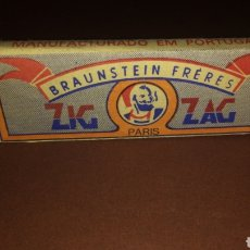 Papel de fumar: PAPEL DE FUMAR ZIG-ZAG. Lote 181164827