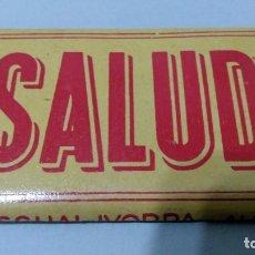 Papel de fumar: PAPEL DE FUMAR SALUD, PASCUAL IBORRA - ALCOY. Lote 181948072