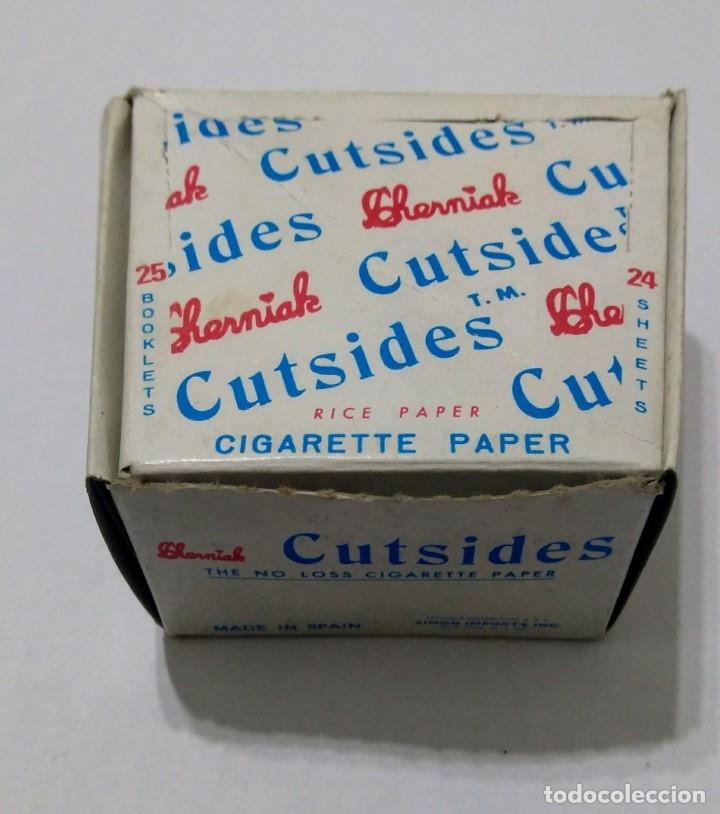 Papel de fumar: Caja con 25 Libritos papel de fumar. CHERMIAK CUTSIDES - Foto 2 - 181950993