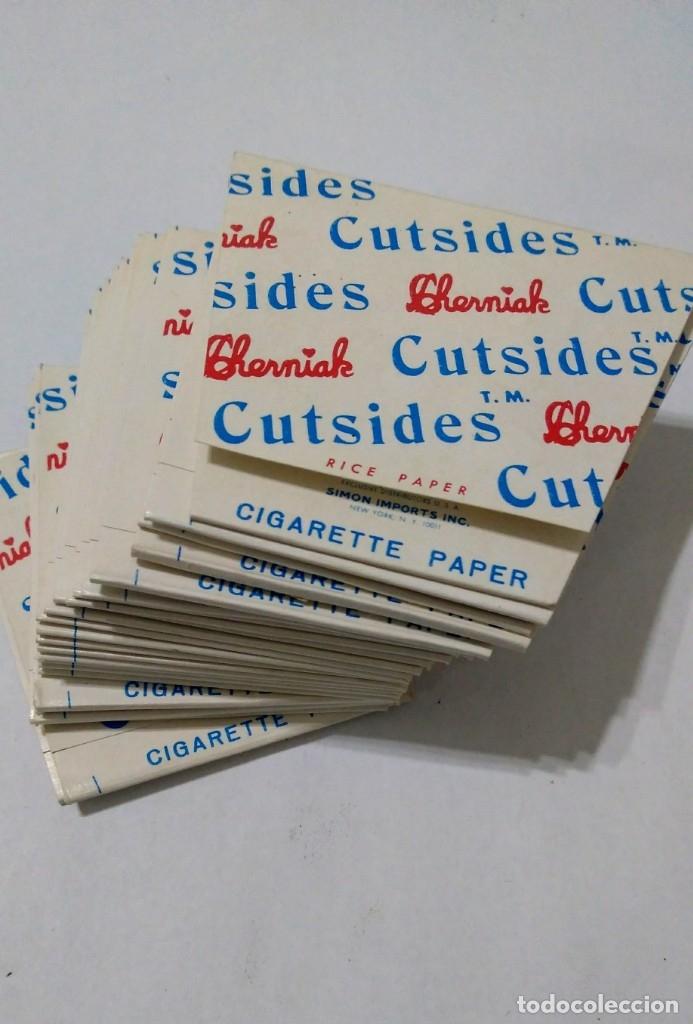 Papel de fumar: Caja con 25 Libritos papel de fumar. CHERMIAK CUTSIDES - Foto 3 - 181950993