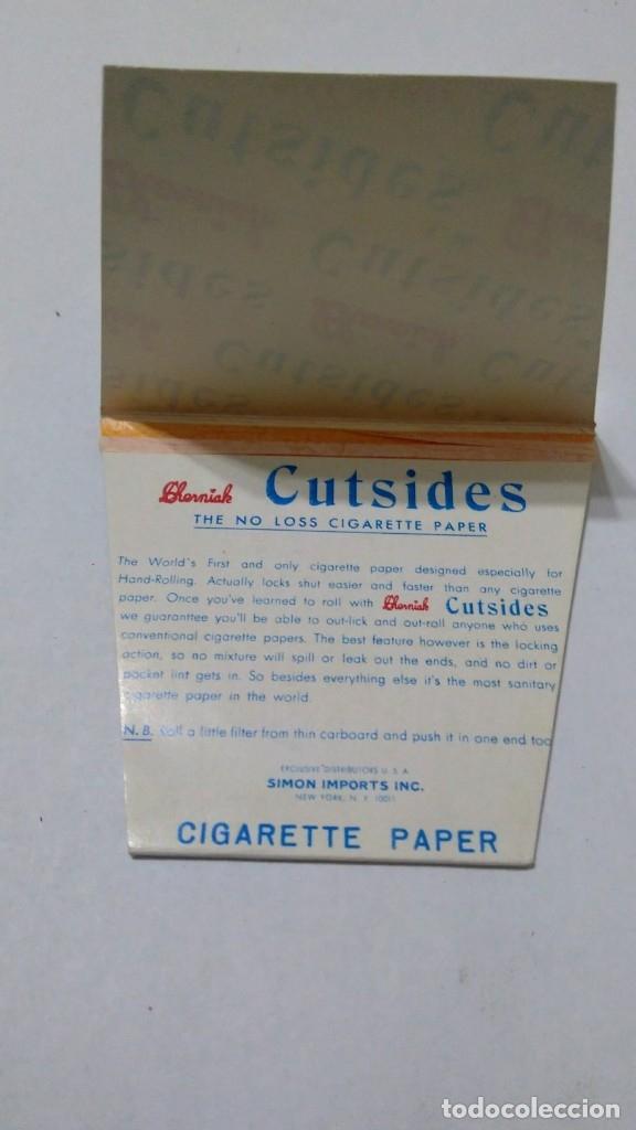 Papel de fumar: Caja con 25 Libritos papel de fumar. CHERMIAK CUTSIDES - Foto 4 - 181950993
