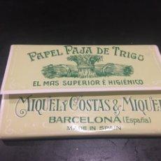 Papel de fumar: PAPEL DE FUMAR PAJA DE TRIGO. Lote 182233802