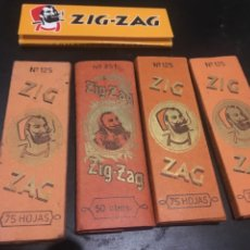 Papel de fumar: PAPEL DE FUMAR ZIG ZAG. Lote 182234148