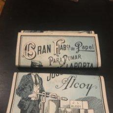 Papel de fumar: PAPEL DE FUMAR LAPORTA JOSE ALCOY. Lote 182234762