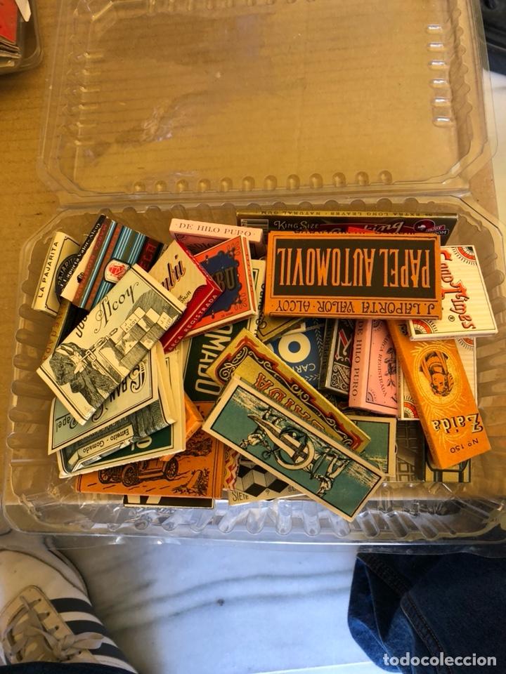 LOTE DE 41 LIBRITOS DE PAPEL DE FUMAR, COMPLETOS (Coleccionismo - Objetos para Fumar - Papel de fumar )