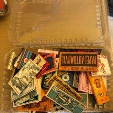 Papel de fumar: LOTE DE 41 LIBRITOS DE PAPEL DE FUMAR, COMPLETOS. Lote 182261746