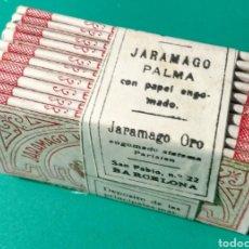 Papel de fumar: ANTIGUO PAPEL DE FUMAR. JARAMAGO ORO.. Lote 182427661