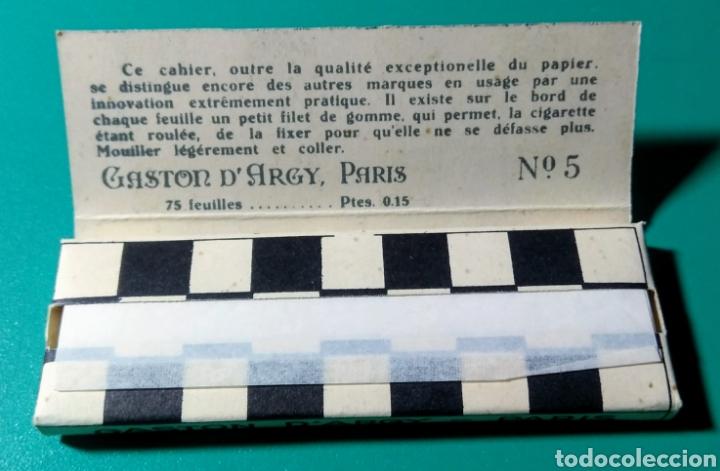 ANTIGUO PAPEL DE FUMAR. JEAN N° 5. (Coleccionismo - Objetos para Fumar - Papel de fumar )