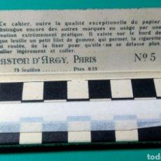 Papel de fumar: ANTIGUO PAPEL DE FUMAR. JEAN N° 5.. Lote 182433878