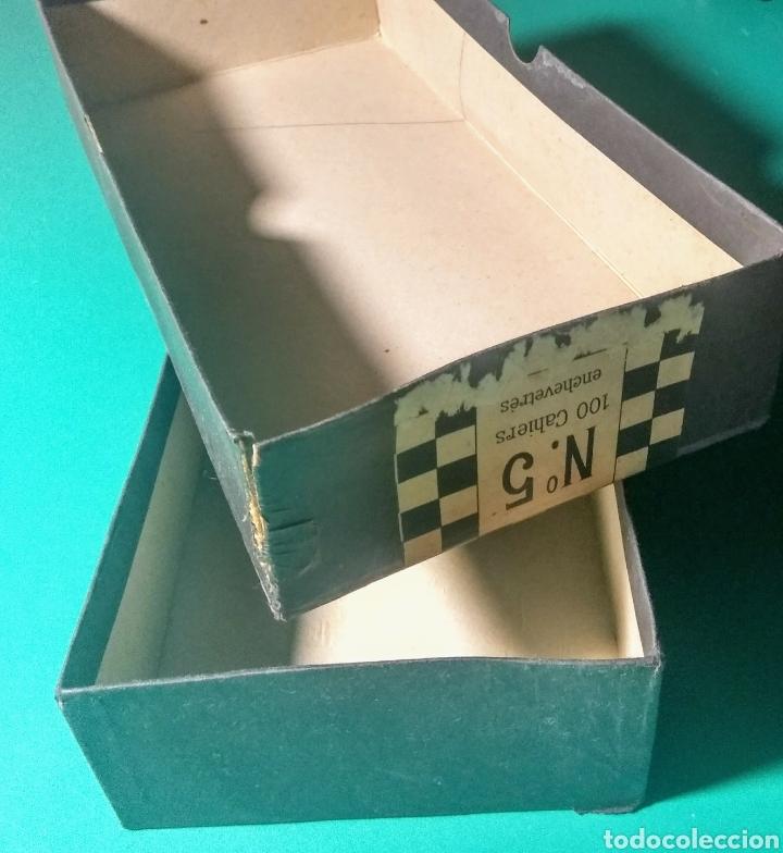 Papel de fumar: Antigua caja vacía. Papel de fumar Jean. - Foto 2 - 182517207