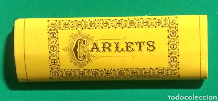 Papel de fumar: Antiguo papel de fumar. Engomat. Carlets. - Foto 2 - 182501165