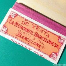 Papel de fumar: ANTIGUO PAPEL DE FUMAR. PAPEL AMERICANO.. Lote 182636438