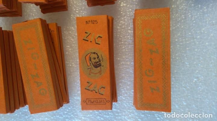 Papel de fumar: Caja y 42 librillos papel fumar zig zag 125 valladolid - Foto 2 - 182772605