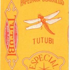 Papel de fumar: PAPEL DE FUMAR; - TUTUBI ESPECIAL - MADE IN JAPAN - EMPTY. Lote 183332598