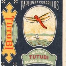 Papel de fumar: PAPEL DE FUMAR; - TUTUBI - EMPTY. Lote 183332823