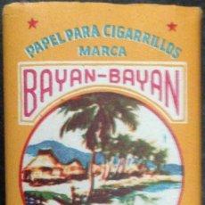 Papel de fumar: PAPEL DE FUMAR; - BAYAN-BAYAN - FULL. Lote 183334042