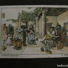 Papel de fumar: PAPEL DE FUMAR LAYANA-LA ZARAGOZANA-5 CENTIMOS-ANTE EL ALCADE-J.WORMS-VER FOTOS-(V-18.149). Lote 183848232