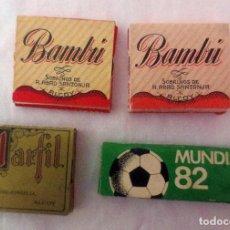 Papel de fumar: LOTE 4 LIBRILLOS DE PAPEL DE FUMAR - 2 CON ESCUDO REPUBLICA. Lote 184526625