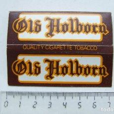 Papel de fumar: PAPEL DE FUMAR OLD HOLBORN PEQUEÑO INGLATERRA. Lote 184908631