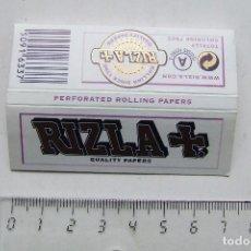 Papel de fumar: PAPEL DE FUMAR RIZLA BLANCO PEQUEÑO INGLATERRA. Lote 184908932